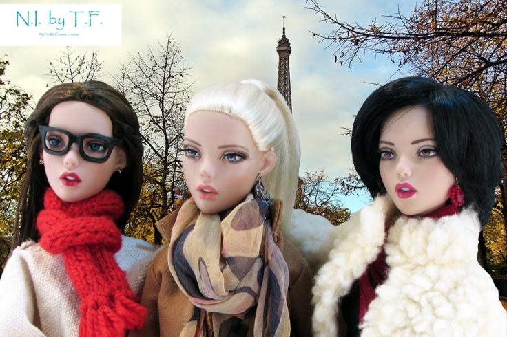 Marceline, Margueritte et Michelle :)